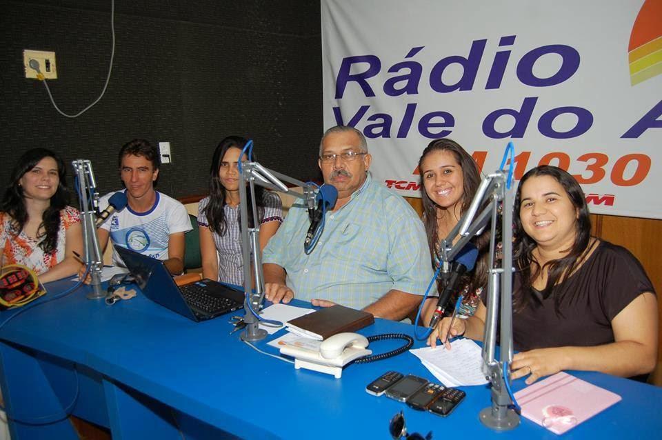 Equipe do Programa Voz Evangélica da Igreja de Cristo