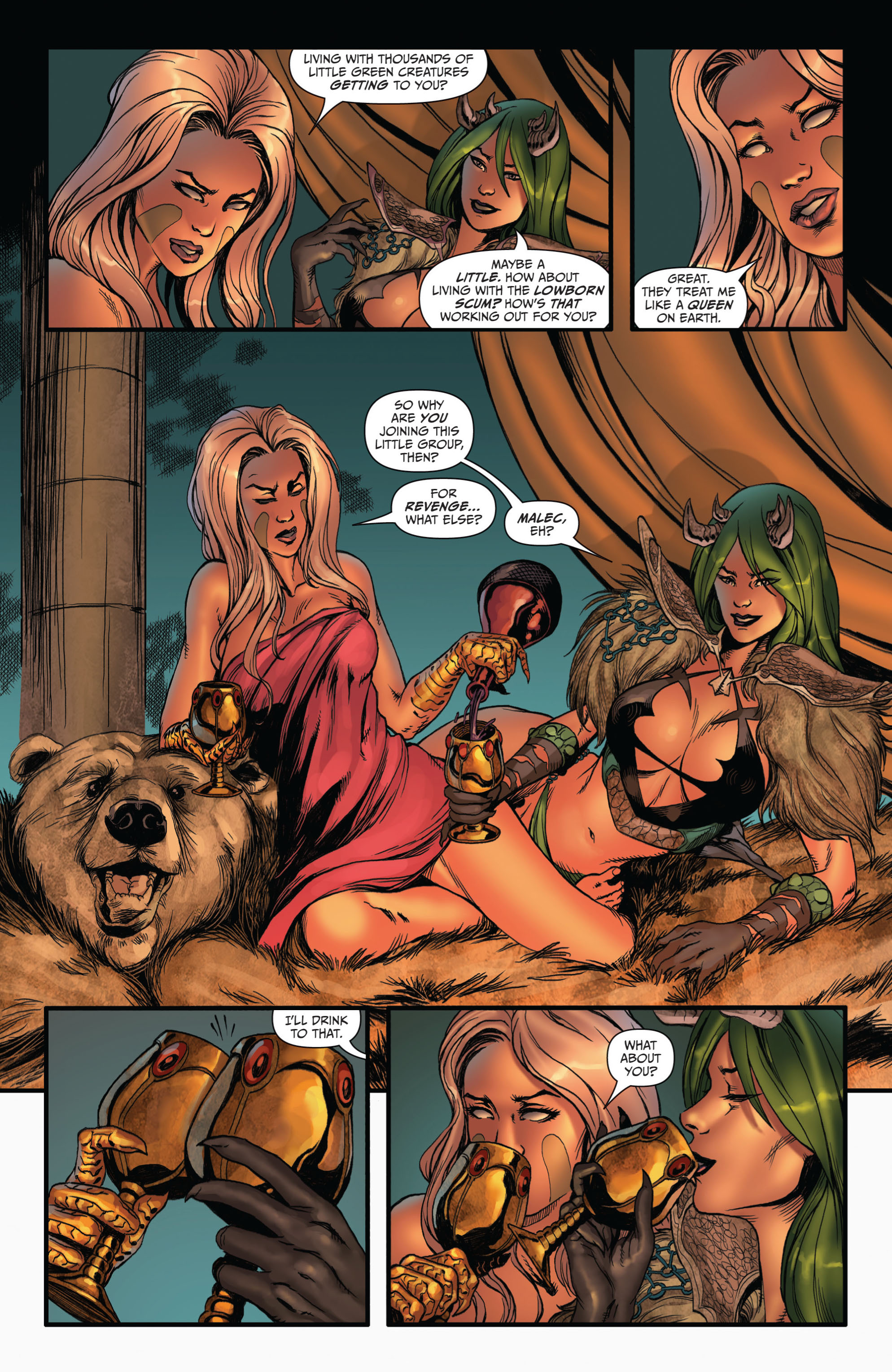 Grimm Fairy Tales (2005) Issue #73 #76 - English 17