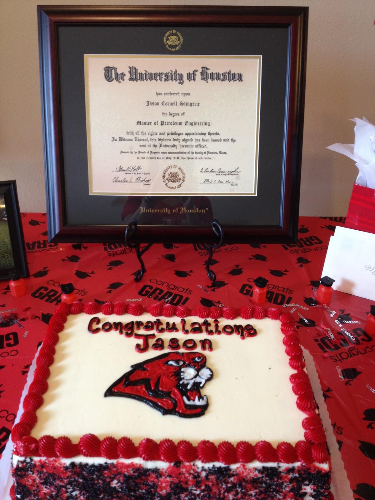 The Stingeries: Jason\'s Graduation Weekend!