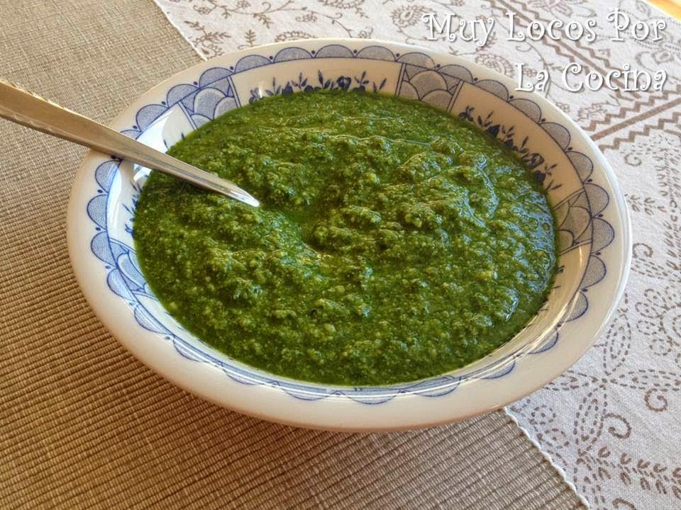 Salsa Pesto de Albahaca (Pesto di Basilico)