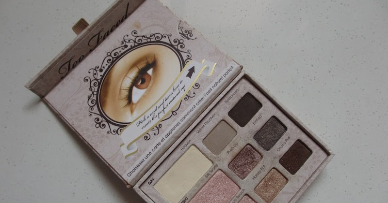 Too Faced Natural Matte Eye Palette Made In Usa