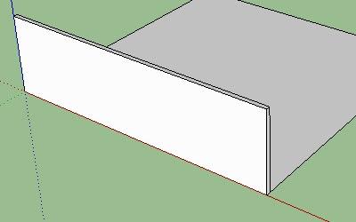 Cara Membuat Lantai dan Dinding pada Google SketchUp-2