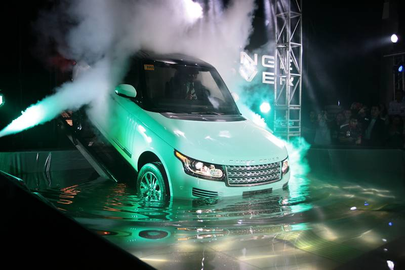new car releases 2013 philippinesLand Rover Launches AllNew Range Rover in the Philippines