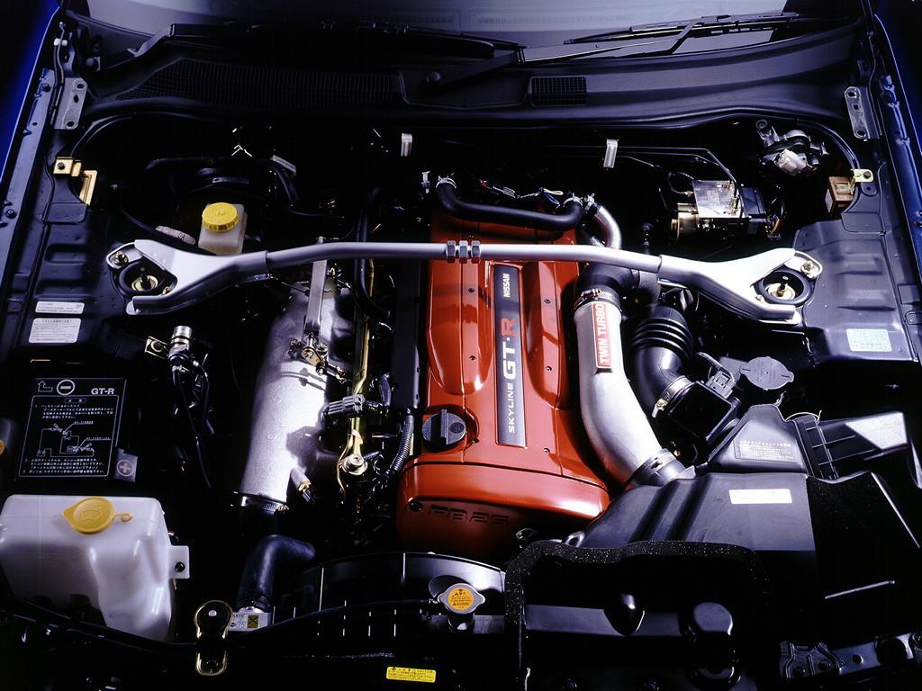 R6, sześć cylindrów, twin turbo, 2.6L najbardziej niezawodne silniki turbo