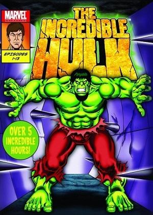 O Incrível Hulk - Desenho Animado Desenhos Torrent Download capa