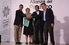 La Alianza del Pacífico se solidariza con Colombia y adelanta su inauguración
