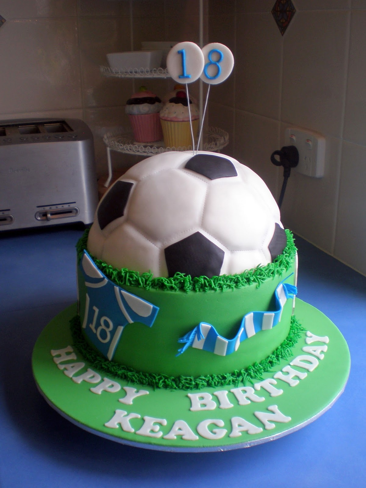Sugar Siren Cakes Mackay Soccerfootball Birthday Cake