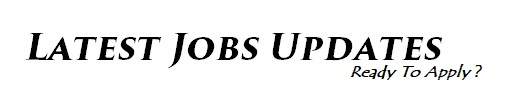 The Jobs Updates | #1 Job Site In India For Jobs Seekers