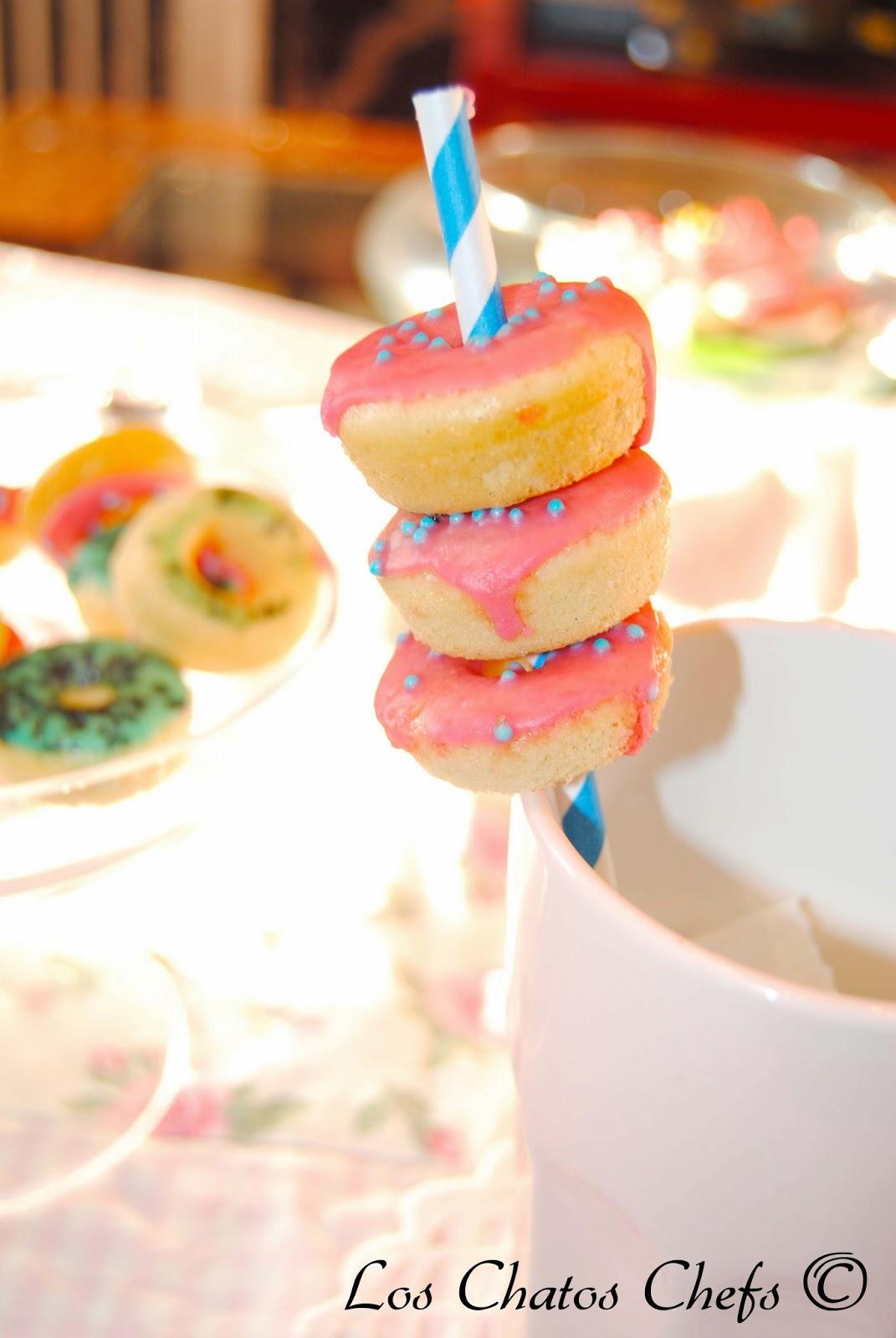 baby donuts de vainilla
