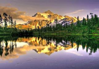 صورة مدهشة لجبال الالبا فى امريكا منظهر طبيعى جذاب