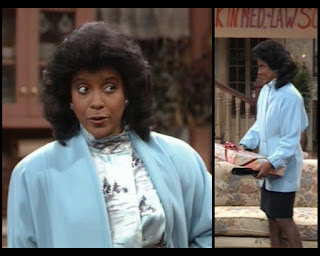 Cosby Show Huxtable fashion blog 80s sitcom Clair Phylicia Rashad