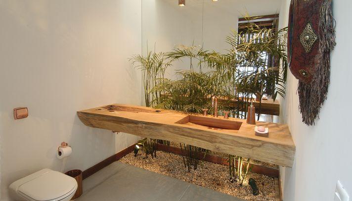Coisas de Lélia Bancadas de pia em madeira -> Pia De Banheiro Madeira