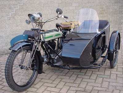 1922 Triumph SD Combination