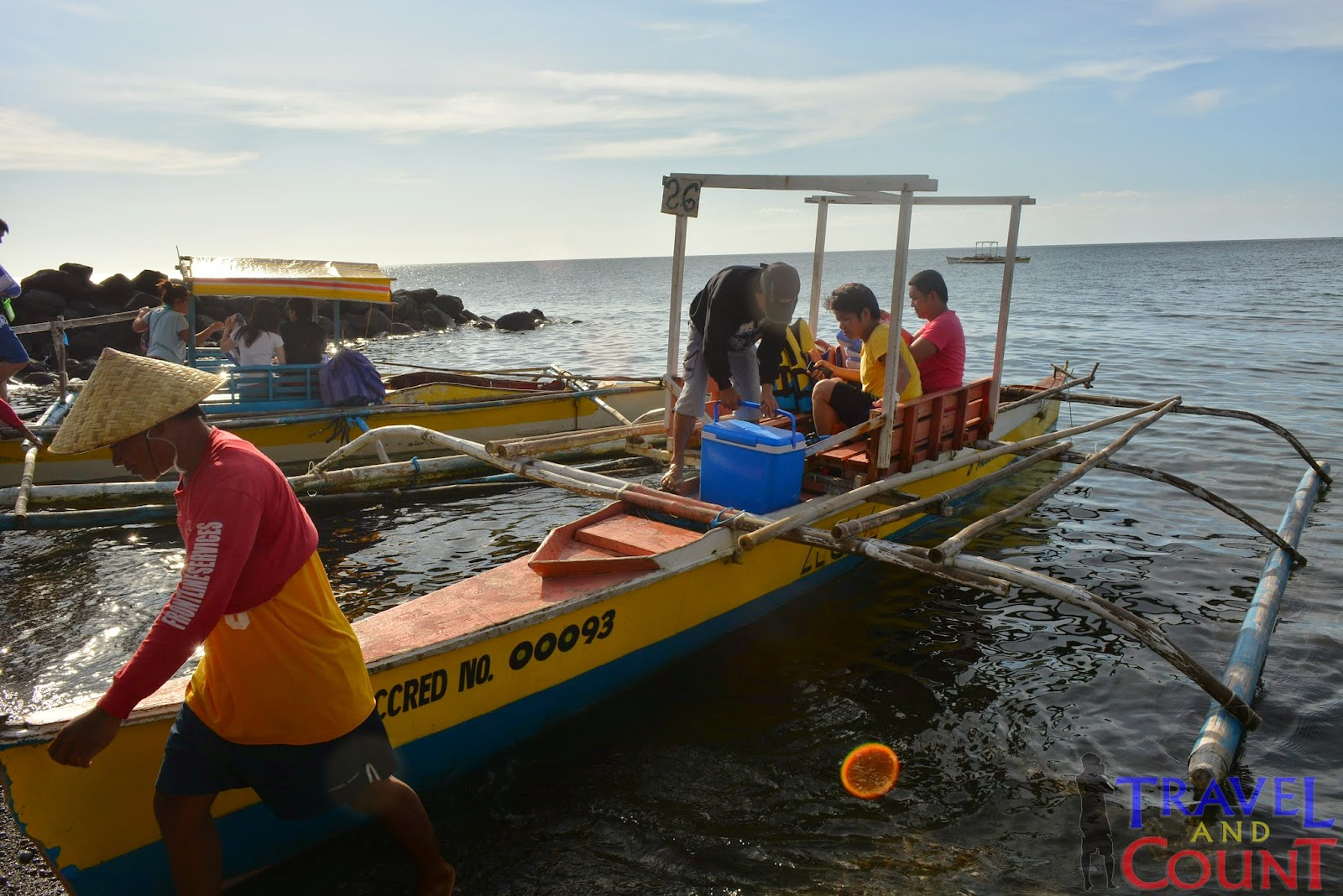 Boat rental to White Island Camiguin
