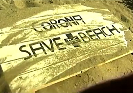 Coronita hotel basura playa
