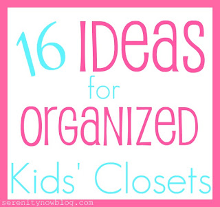 16 Ideas for Organized Kids' Closets (Pins to Admire and Inspire)