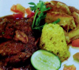 Menu Chicken Curry