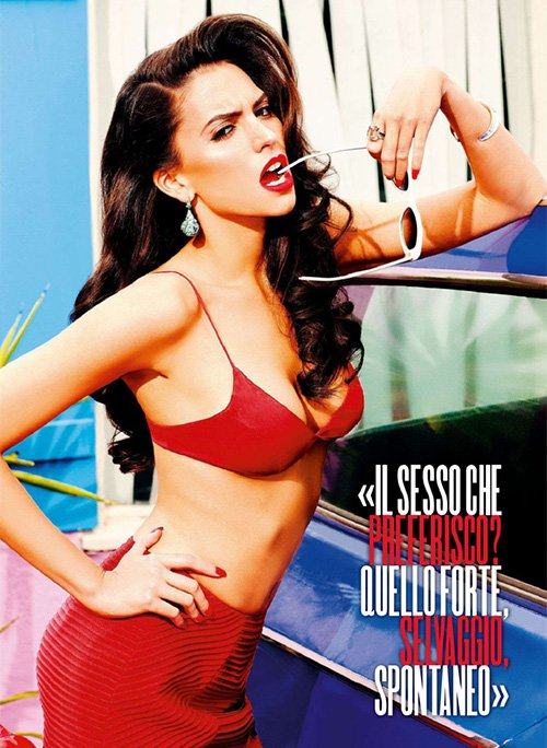 Genesis Rodriguez is Red Hot for Max Magazine » Gossip | Genesis Rodriguez
