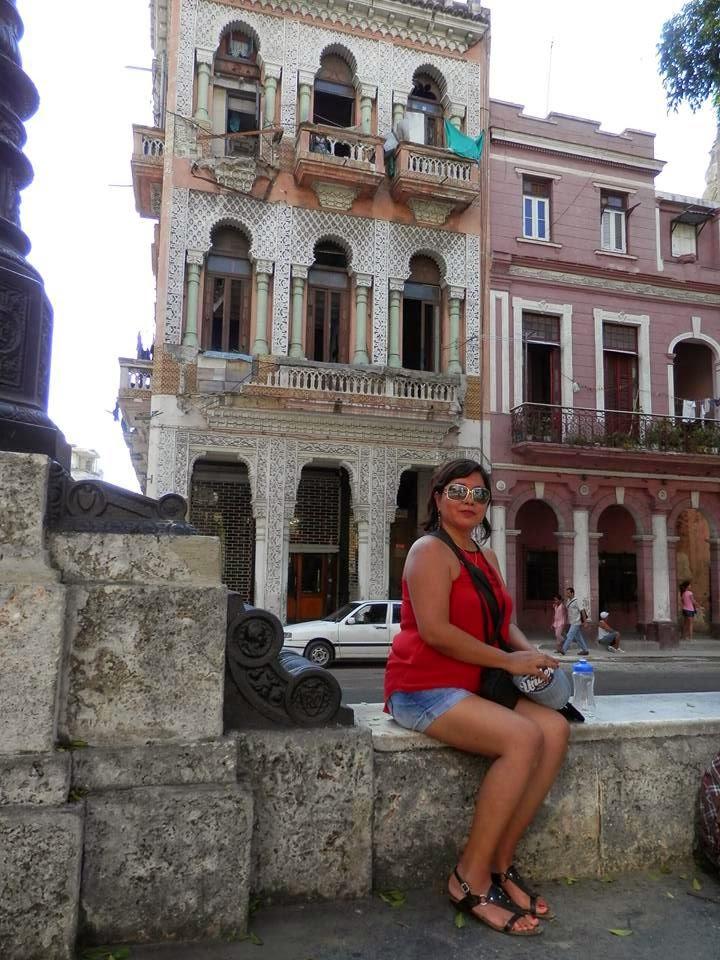 En La Habana,  Cuba año 2014