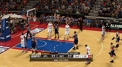 NBA 2K13 Simple ESPN Scoreboard Mod v4
