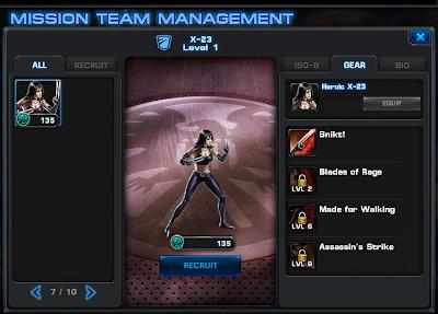 Kinney Pride: X-23 Available in Marvel's Avengers Alliance X 23 Marvel Avengers Alliance