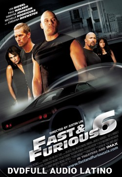 Fast and Furious 6 DVD Full Latino [DVD5]