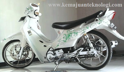 Modifikasi Motor Suzuki Shogun 110 2004