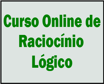 Curso online de Raciocínio Lógico