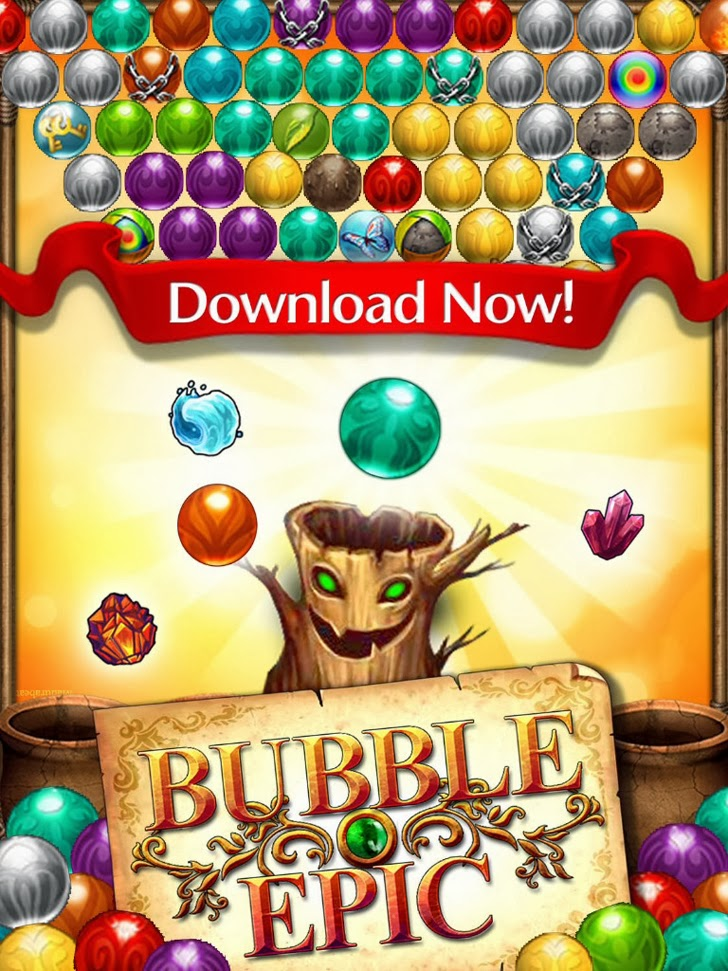 Bubble Epic App iTunes App By Six Waves Inc - FreeApps.ws