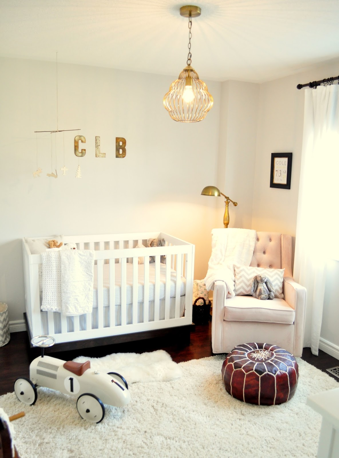 We chose the Ikea Hemnes 8 drawer dresser for a change table dresser and  its perfect  tons of storage  perfect size for a change table and nice  clean lines. Living Beautifully   One  DIY  Step At A Time  Nursery Reveal