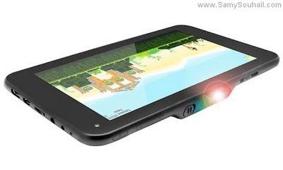 تابلت LumiTab جهاز لوحي مزود ببروجيكتور ضوئي.. بالصور