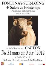 FONTENAY-SUR-LOING : CAPTON INVITÉ D'HONNEUR DU 4ème SALON DE PRINTEMPS