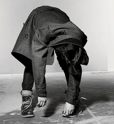 Thom Yorke by Richard Burbridge for February's Dazed &amp; Confused