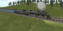 Permainan kereta api simulator android