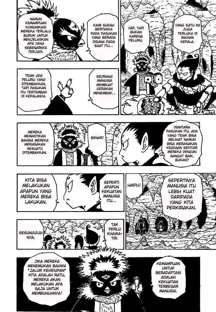 Dilarang COPAS - situs resmi www.mangacanblog.com - Komik hunter x hunter 189 - penyusupan 190 Indonesia hunter x hunter 189 - penyusupan Terbaru 11|Baca Manga Komik Indonesia|Mangacan