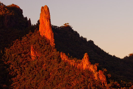 The Breadknife, Warrumbungle National Park