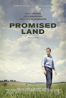 promised land matt damon poster