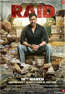Raid (2018) Hindi Movie hevc PDVDRip 165Mb