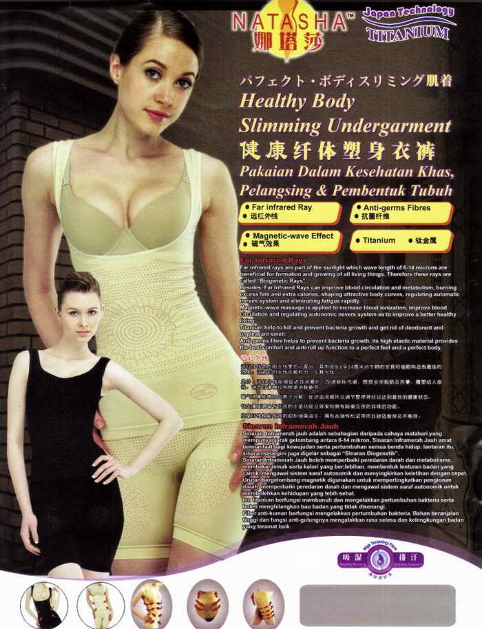 Kozui Slimming Suit Natasha Asli dan Murah | Toko ...
