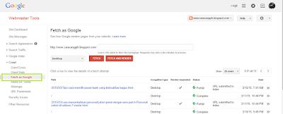 cara submit artikel ke google dengan mudah agar cepat terindek