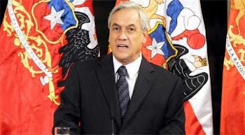 el Presidente Piñera se pronunció categóricamente. hay un tratado de límites de 1904 en vigencia
