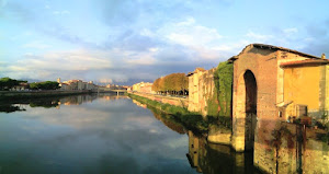 Inverno a Pisa (foto ap)