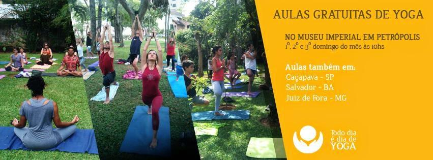 Yoga no coração de Petrópolis!