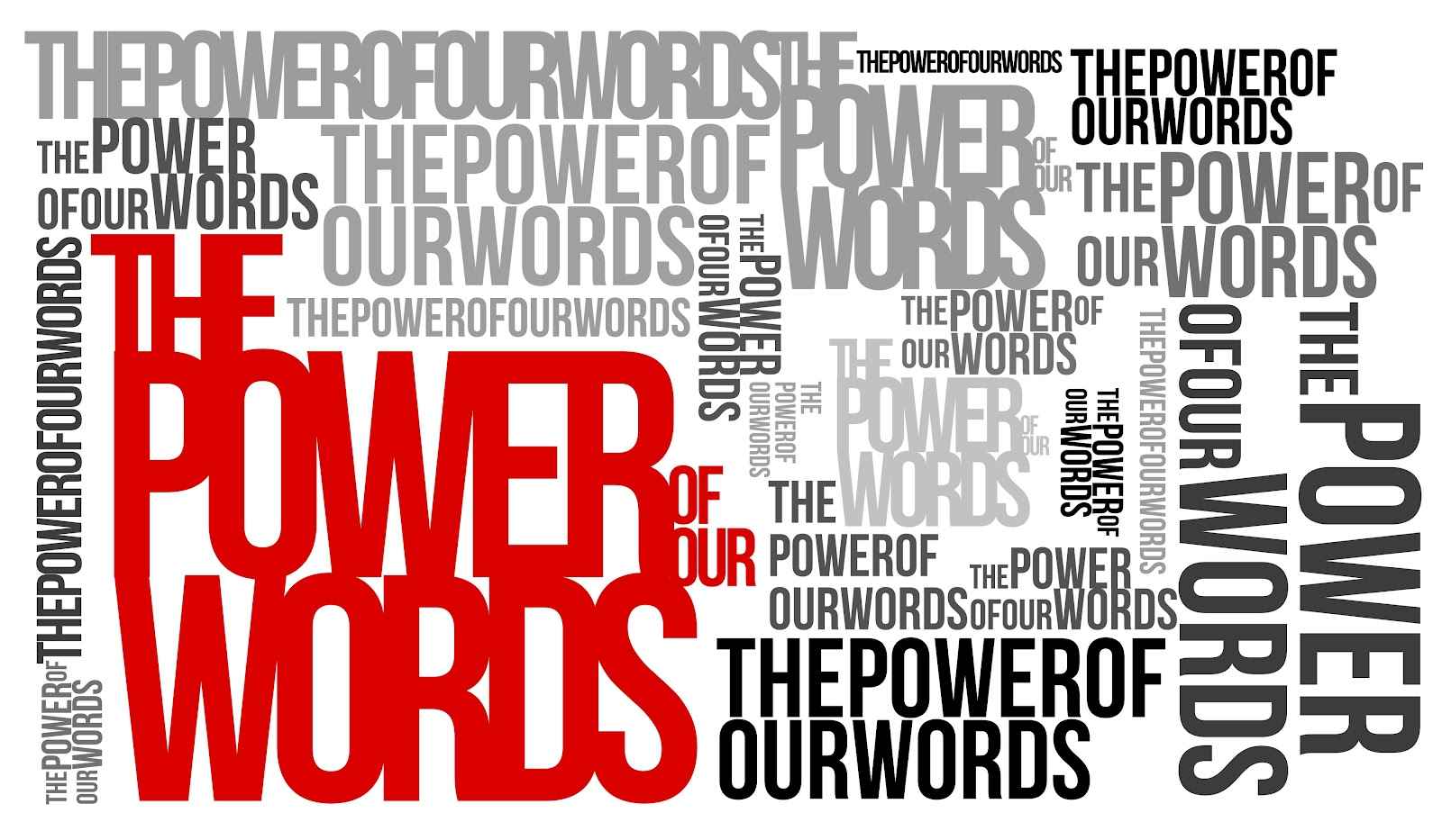 power of words God spoke the universe into existance our words have the power to hurt or empower words matter to god, and he wants them to matter to us it's hard to always speak in love, but with god.