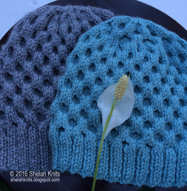 Shelah Knits Honeycomb Cable Stitch