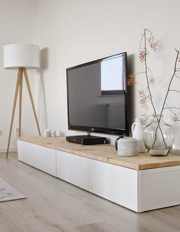 este es el mueble que me ha inspirado he hecho mi propia versin dos de los mdulos que ya tena en el saln