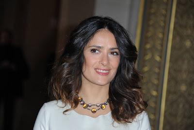 Salma Hayek 2012 Hairstyle