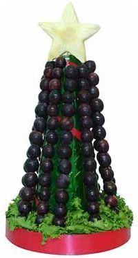 Mardefiesta como presentar las uvas en nochevieja - Decoracion mesa nochevieja ...
