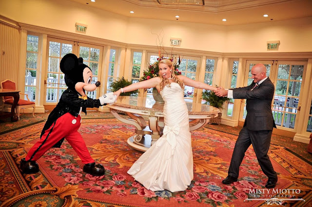 Having Fun with Mickey at Your Wedding