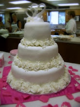 Our First Wedding Cake